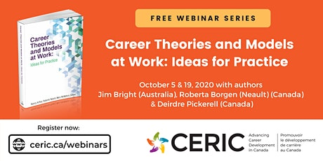 Free Webinar Series: Career Theories and Models At Work tickets