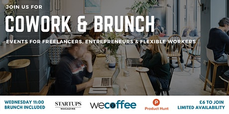 Cowork And Brunch - Cannon Street tickets