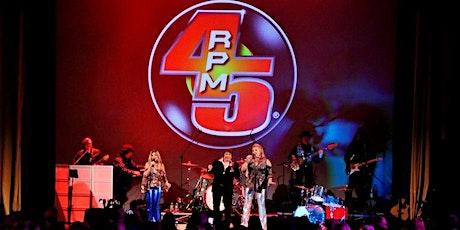 45RPM Adventureland DRIVE IN Concert Series tickets