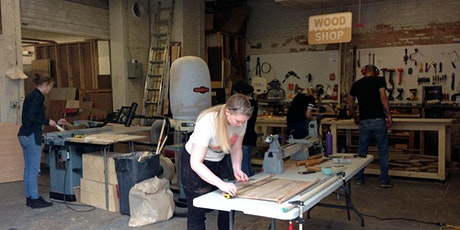 Intro to Woodworking (Mondays) tickets