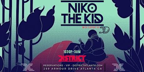 *CANCELLED* Niko The Kid w/ JD tickets
