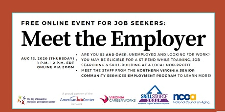 "Senior Community Services Employment Program (SCSEP) ""Meet the Employer"" tickets"