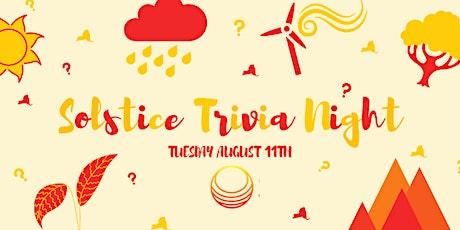 Solstice Trivia Night! tickets