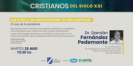 LAS CRISIS Y LOS RECOMIENZOS EN LA VIDA ESPIRITUAL. EL CASO DE LA PANDEMIA boletos