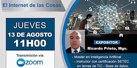 """Webinar """"El internet de las Cosas"""" tickets"""