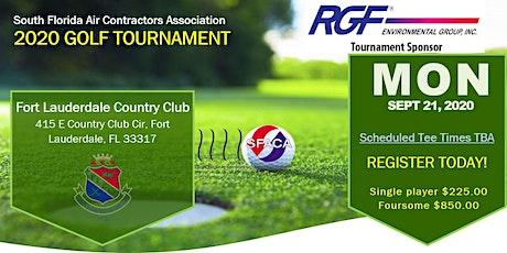 SFACA Annual Golf Tournament tickets
