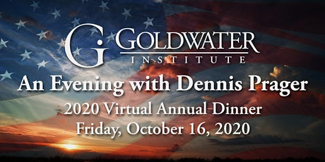 An Evening with Dennis Prager- Virtual 2020 Annual Dinner tickets
