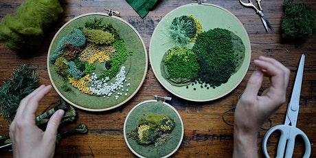 How to Make a Moss Embroidery Workshop tickets