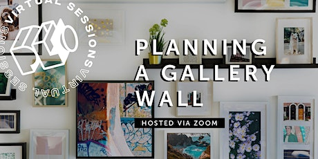 Virtual: Planning a Gallery Wall tickets
