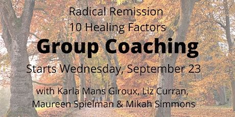 Radical Remission Group Coaching tickets
