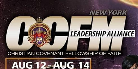 NYC CCFM Leadership Alliance Kingdom Conference tickets