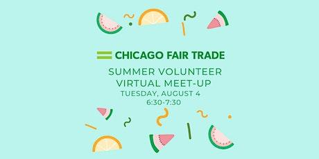 Chicago Fair Trade Volunteer Virtual Meet Up tickets