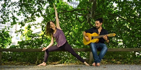 Vinyasa dance flow & live music tickets