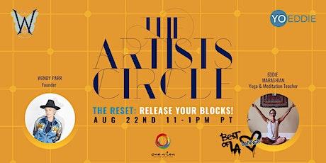 The Artist's Circle ft Yoga and Meditation teacher Eddie Marashian tickets