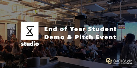 End of Year Virtual Student Pitch Event with CMCI Studio tickets