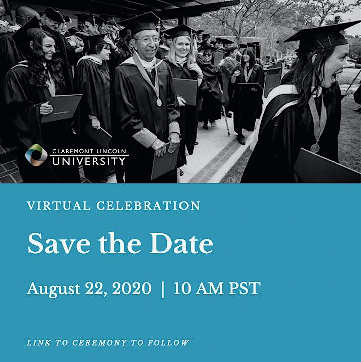 CLU Virtual Celebration of 2020 Grads image