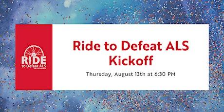 Virtual Kickoff - Jersey Shore Ride to Defeat ALS Tickets