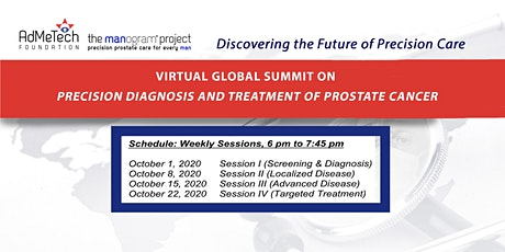 Virtual Global Summit on Precision Dx and Tx of Prostate Cancer tickets