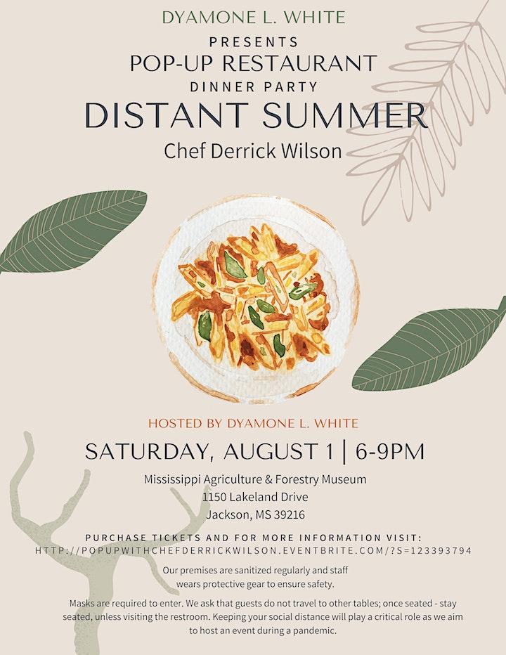 Pop-Up Restaurant with Chef Derrick Wilson image