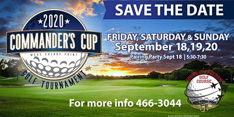 MCAS Cherry Point Commander's Cup Golf Tournament 2020 tickets