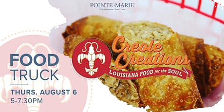 Creole Creations Food Truck tickets