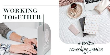 Working Together - a Virtual Coworking Sesh biglietti
