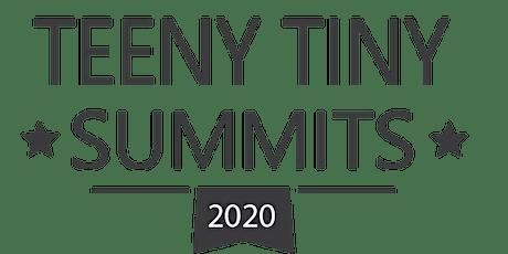 Teeny Tiny Summit Virtual Session: Creatively Bringing Community Together tickets