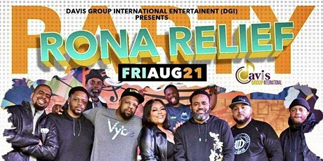Rona Relief Party with DC Vybe tickets