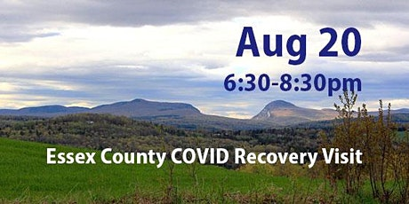 Essex County COVID Recovery Visit: Recovery to Renewal and Resilience tickets