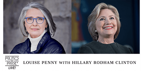P&P Live! Louise Penny | ALL THE DEVILS ARE HERE with Hillary Clinton tickets