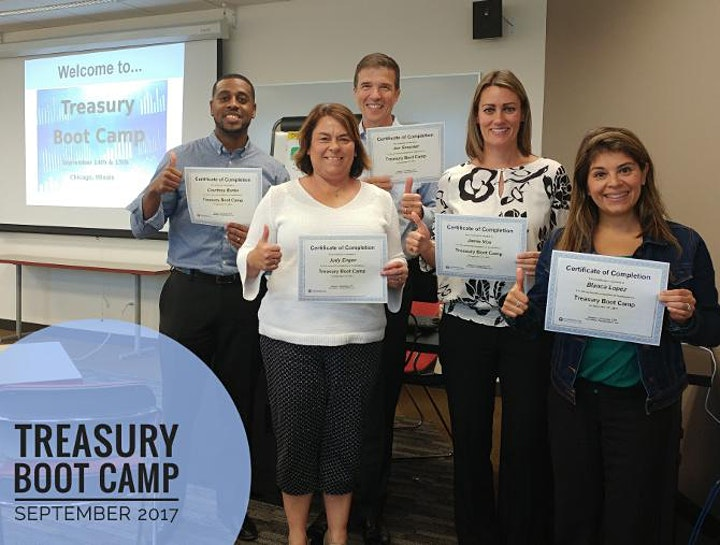 The Online Treasury Boot Camp - February 2021 image