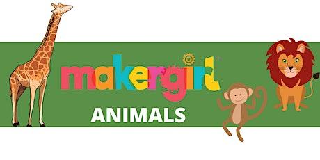 MakerGirl Virtual Session: Animals tickets