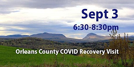 Orleans County COVID Recovery Visit: Recovery to Renewal and Resilience tickets