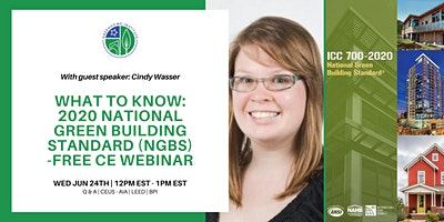 What to know 2020 National Green Building Standard (NGBS) – Free CE Webinar