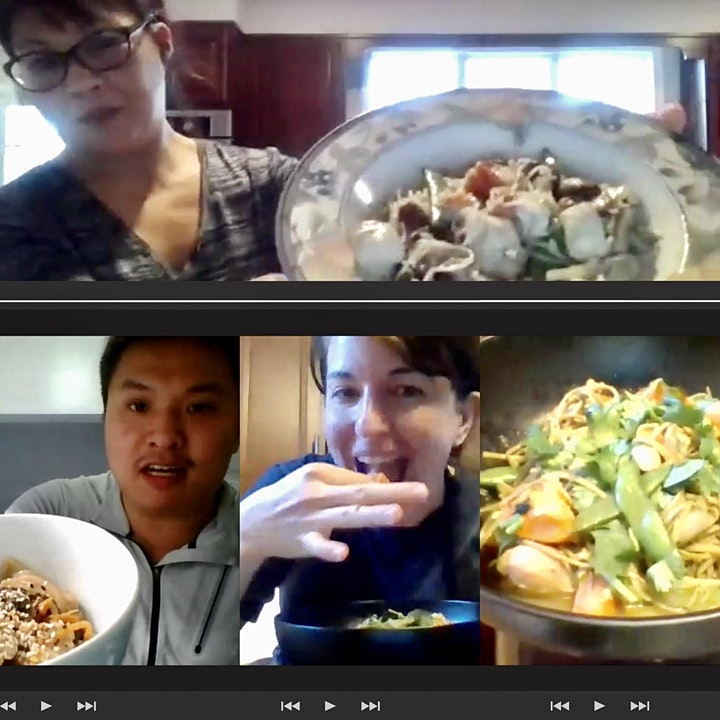 Let's Cook! interactive online cooking class image