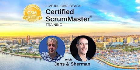 Certified ScrumMaster® Training  October 19-20, Long Beach | Scrum & Fun! tickets