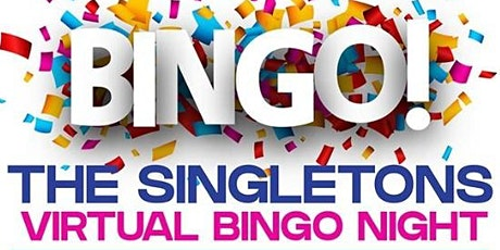 The Singletons Virtual Bingo Night tickets