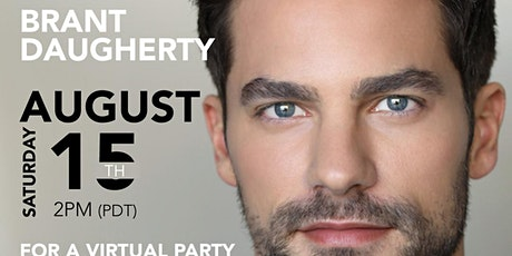 Pretty Little Liar's Brant Daugherty Virtual Meet N Greet on FanRoom Live tickets