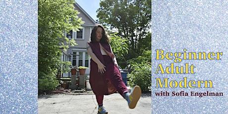Beginner Adult Modern with Sofia Engelman tickets