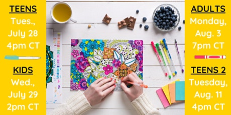Art Therapy Session for CCA Kids and Teens tickets