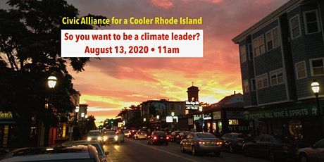 So you want to be a climate leader? A briefing for candidates & staff tickets
