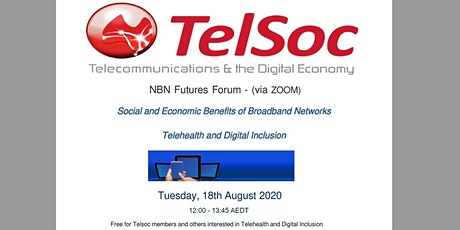 NBN Futures Forum: Social and Economic Benefits of Broadband Networks tickets