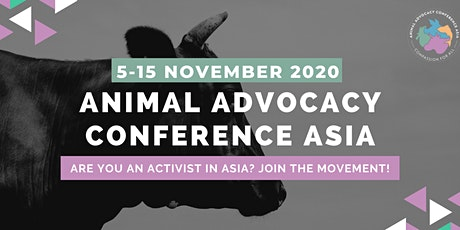 Animal Advocacy Conference Asia 2020 tickets