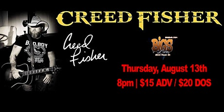 CREED FISHER at Bigs Bar Sioux Falls tickets