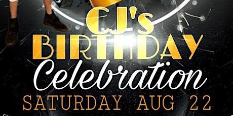 CJ's Birthday Celebration tickets