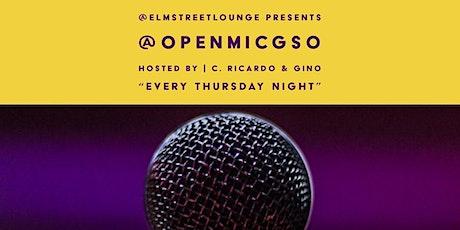 Open Mic Greensboro w/ Live Band // Every Thursday @ElmStreetLounge tickets