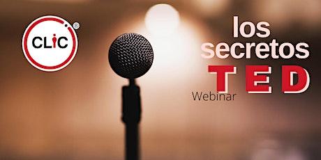 Webinar: Los Secretos TED entradas