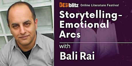 DESIblitz Online Literature Festival Bali Rai Storytelling-Emotional Arcs tickets