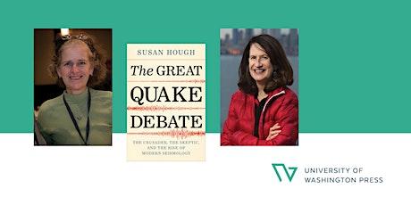 """The Great Quake Debate"" Virtual Book Launch biglietti"