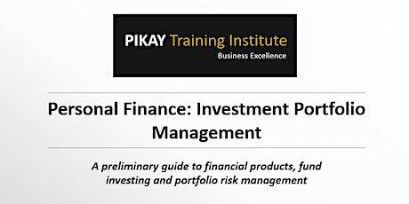 Personal Finance - Investment Portfolio Management tickets